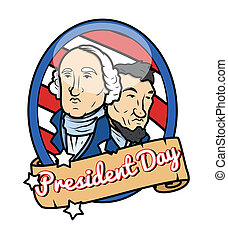 Happy Presidents Day Theme Design