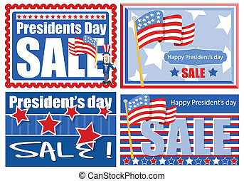 Presidents Day Sale Banners - Presidents Day Sale Banner and...