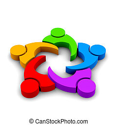 Teamwork Meeting 5 - Teamwork Meeting , group of 5 persons ,...