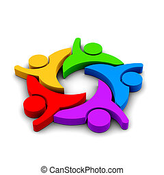 Party People group of 5 persons , - Party People , group of...