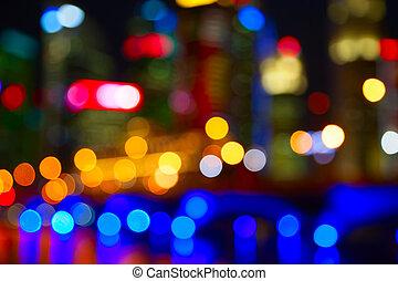 cidade, luzes