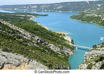 Gorges du Verdon Alpes-de-Haute-Provence,...
