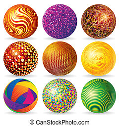 Abstract 3d Sphere Logos - Collection of Abstract Spheres...