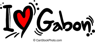Gabon love - Creative design of gabon love