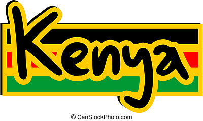 Kenya icon - Creative design of Kenya icon