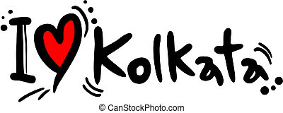 Kolkata love - Creative design of kolkata love