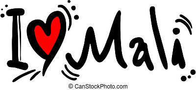 Mali love - Creative design of mali love