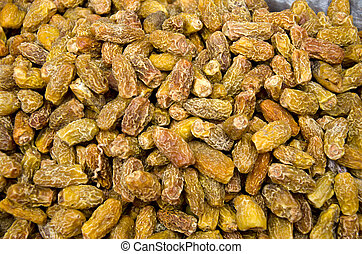 dry dates in asia market background