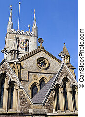 Southwark Cathedral in London - The historic Southwark...
