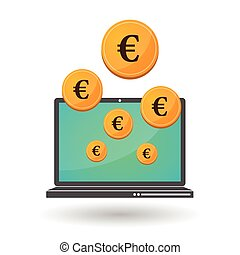 Currency money concept illustraion - Vector illustrations of...