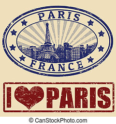 Paris stamps