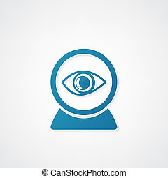 Web camera eye icon