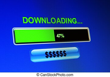 Downloading dollars