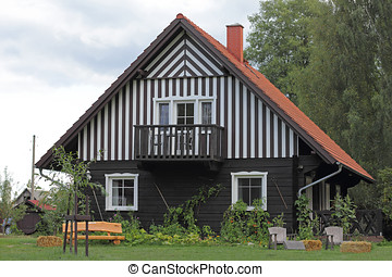 Cottage in the Spreewald in Germany - The Spreewald is an...