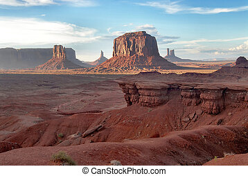 Monument Valley scenario, Arizona