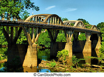 Summer on the Coosa - Bibb Graves Bridge over the Coosa...