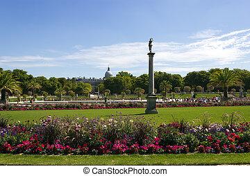 park Jardin du Luxembourg, Paris, France