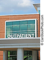 Outpatient Sign - Hospital Outpatient Surgery Center