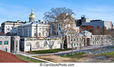 Statehouse - Capitol complex located in Trenton, New Jersey