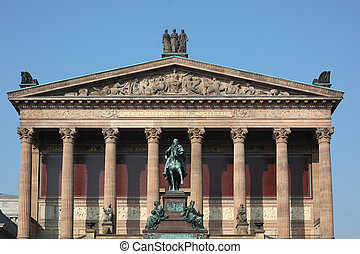 Alte Nationalgalerie Berlin - the Alte Nationalgalerie, Old...