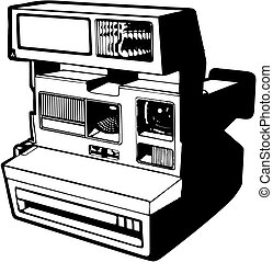 vector icon polaroid