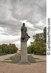 Shabdan Baatyr (Shabdan Djantaev, 1839-1912). Bishkek,...