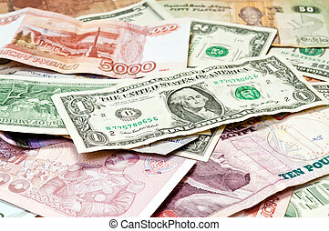 Paper Money  -  World Paper Money background