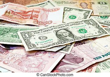 Paper Money  -  World Paper Money background