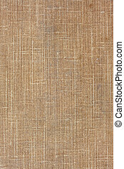brown, coarse textile background