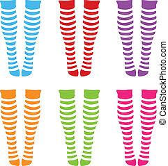 knee-length socks