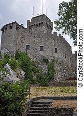 Rocca Guaita San Marino - Rocca Guaita in the Republic of...
