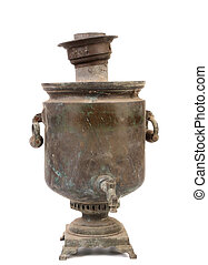 Old samovar.