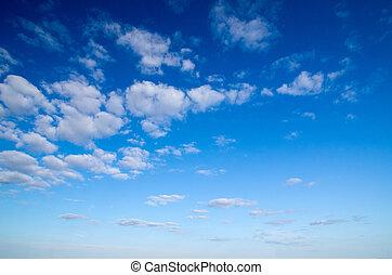 azul, cielo