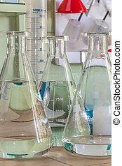 Vessel in a laboratory