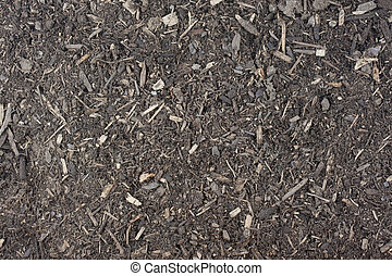 dry garden potting soil background