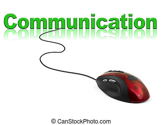 Computer mouse and word Communication