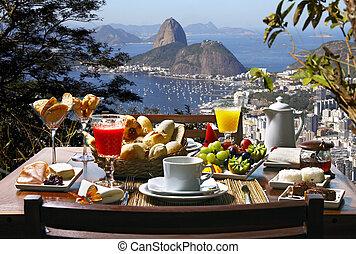 breakfast, rio de janeiro