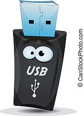 Pocket Usb Key Character