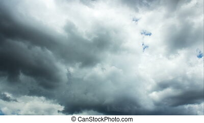Storm Clouds - 4K - storm clouds forming in 4K resolution