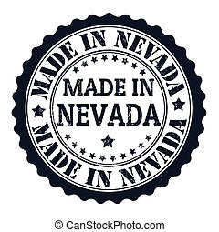 Made in Nevada stamp