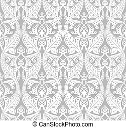 Vintage Art Nouveau Background - Vintage detailed seamlessly...