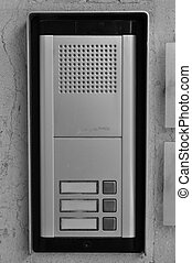 intercom doorbell buttons - Doorphone intercom doorbell with...