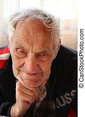 Elderly person.