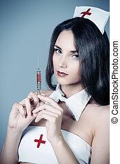 atractivo, Enfermera