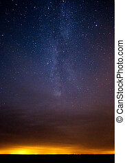 Milky Way at Point Pelee - The Milky Way over Lake Erie at...