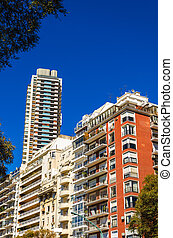 Apartment Buildings in Buenos Aires