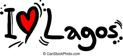 Lagos love - Creative design of lagos love