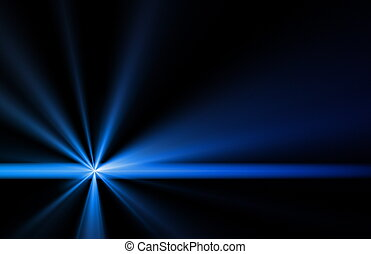 Ray of Light Beams Streaks Art Background