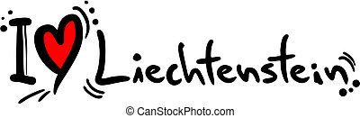 Liechtenstein love - Creative design of liechtenstein love