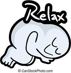 Relax puppet - Creative deisgn of relax puppet